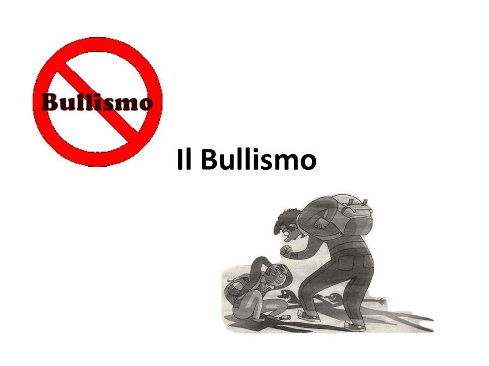 Il Bullismo è una violenza fisica o una violenza morale a scuola.
