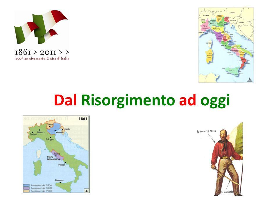 Giuseppe Garibaldi e le sue camicie rosse liberano il Sud dItalia nel 1860 durante la spedizione dei Mille.