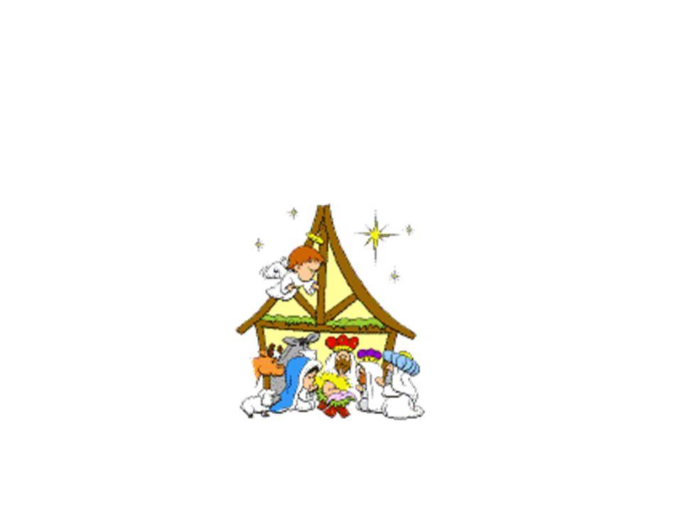 Il presepe rappresenta la nascita di Gesù Bambino