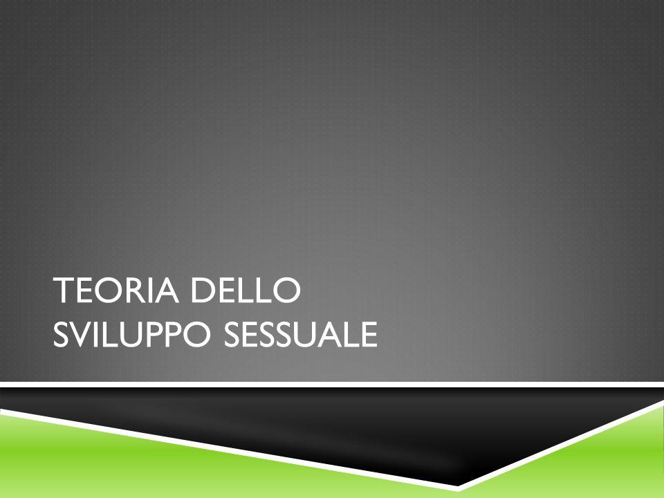 TEORIA DELLO SVILUPPO SESSUALE