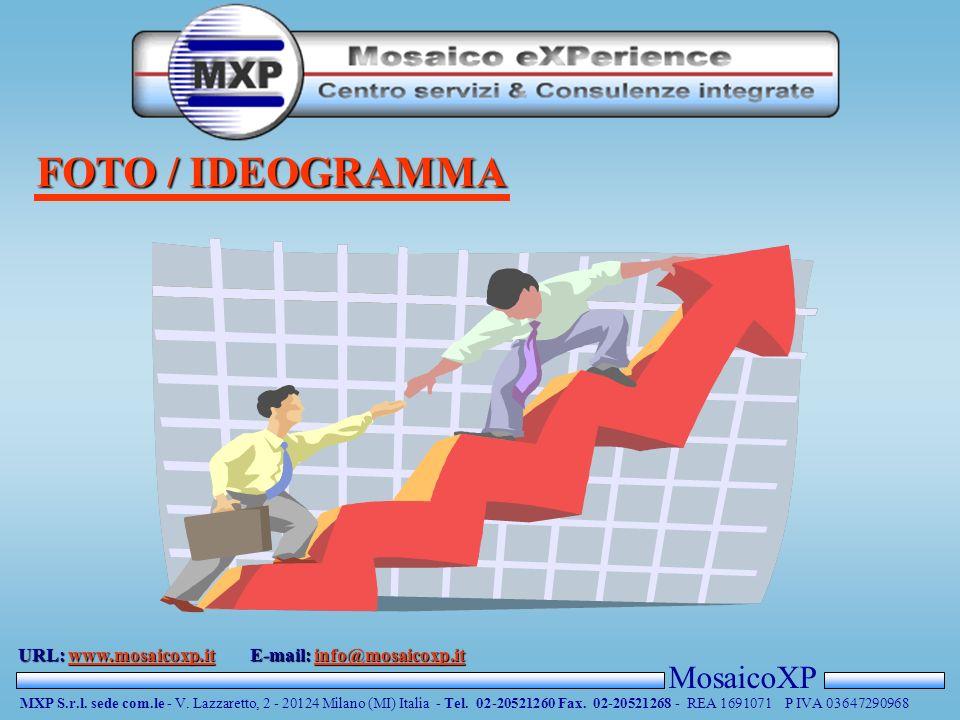 FOTO / IDEOGRAMMA MosaicoXP MXP S.r.l. sede com.le - V.