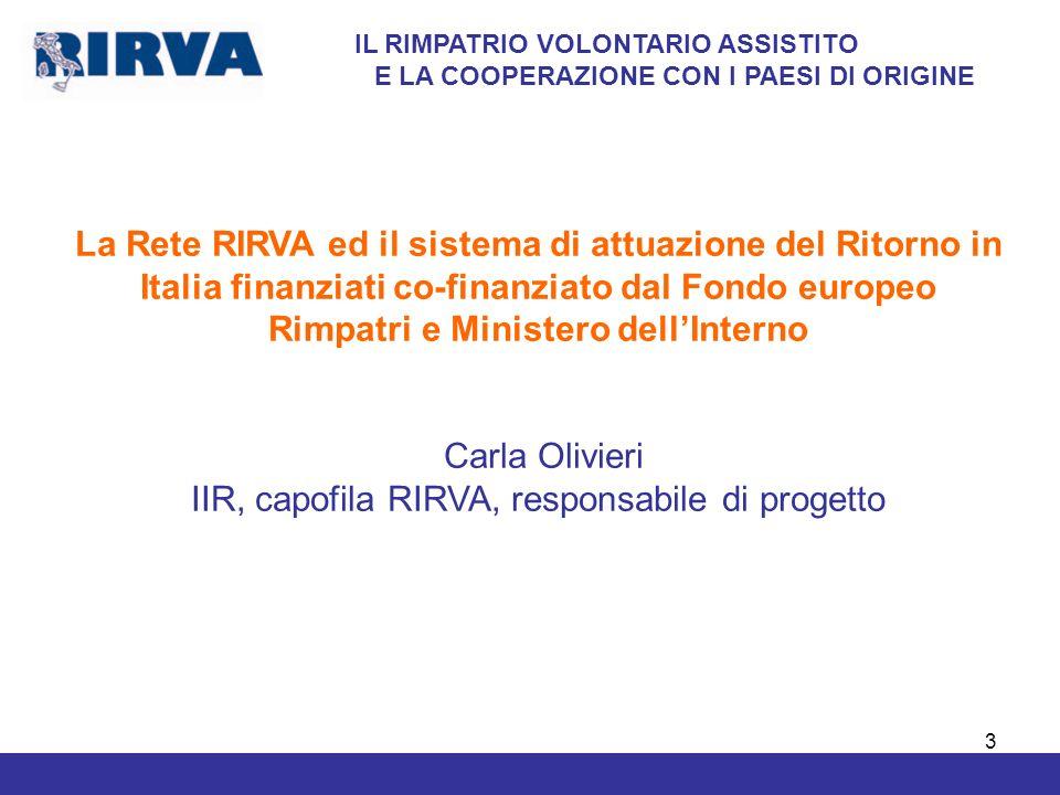 4 Ritorno Volontario Assistito (RVA) COSE RITORNARE, PER RICOMINCIARE Il Ritorno Volontario Assistito è la possibilità di ritornare in modo volontario e consapevole nel proprio paese di origine.