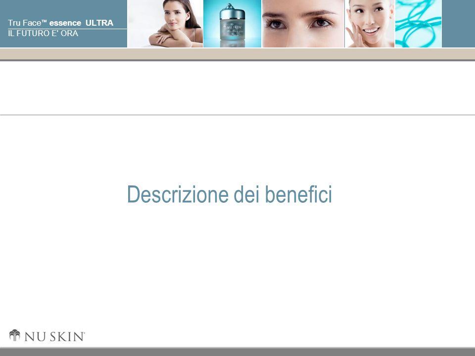 © 2001 Nu Skin International, Inc Tru Face essence ULTRA IL FUTURO E' ORA Descrizione dei benefici