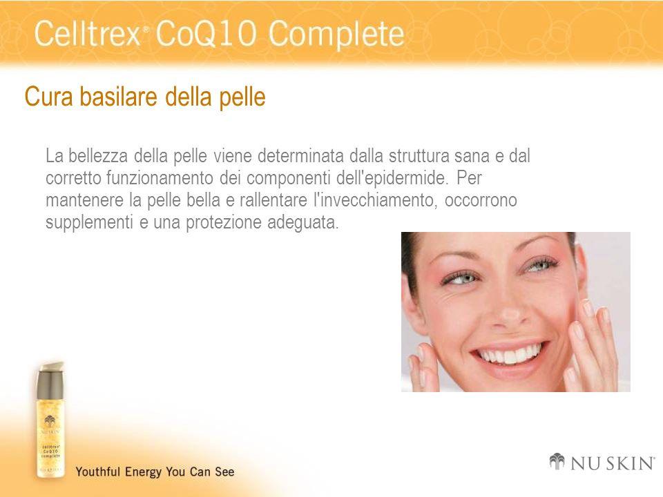 Cura basilare della pelle La bellezza della pelle viene determinata dalla struttura sana e dal corretto funzionamento dei componenti dell'epidermide.