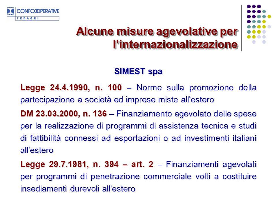 www.fedagri.confcooperative.itwww.operaconsortium.itwww.politicheagricole.itwww.minicomes.itwww.simest.itwww.oiv.intwww.ismea.itwww.istat/agricoltura/www.ice.gov.itwww.buonitaliaspa.itwww.ec.europa.eu/agriculture/ Alcuni riferimenti sitografici