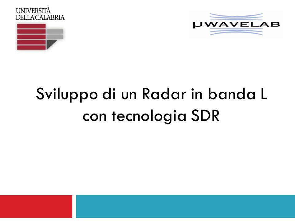 Sviluppo di un Radar in banda L con tecnologia SDR