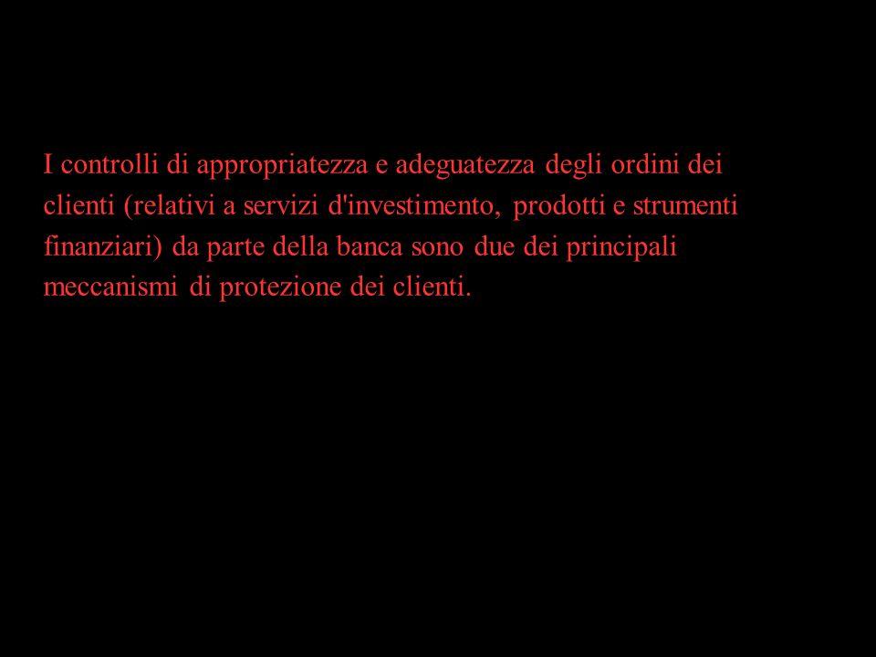 RACCOMANDAZIONI 2) Indagine specialistica.