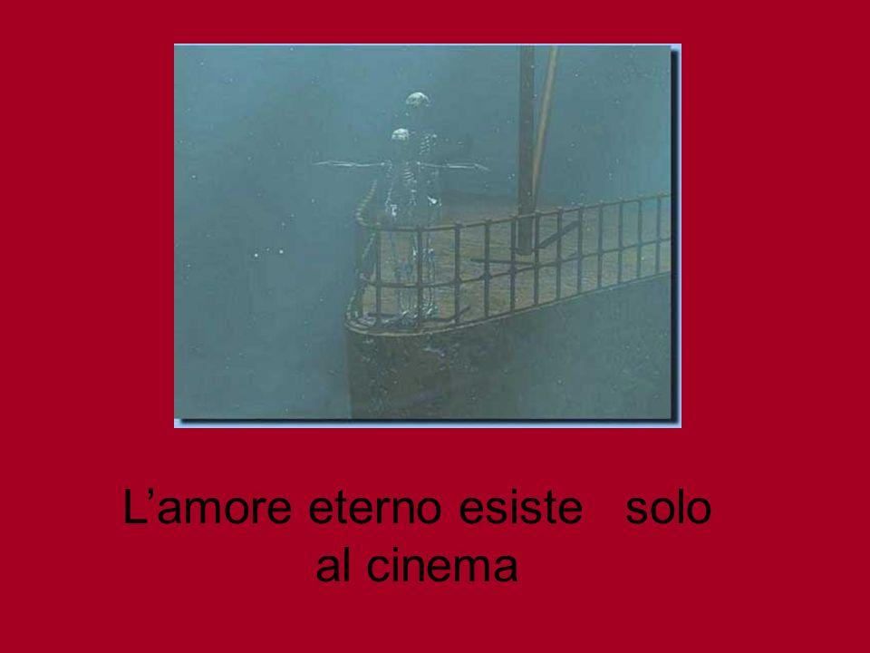 Lamore eterno esiste solo al cinema