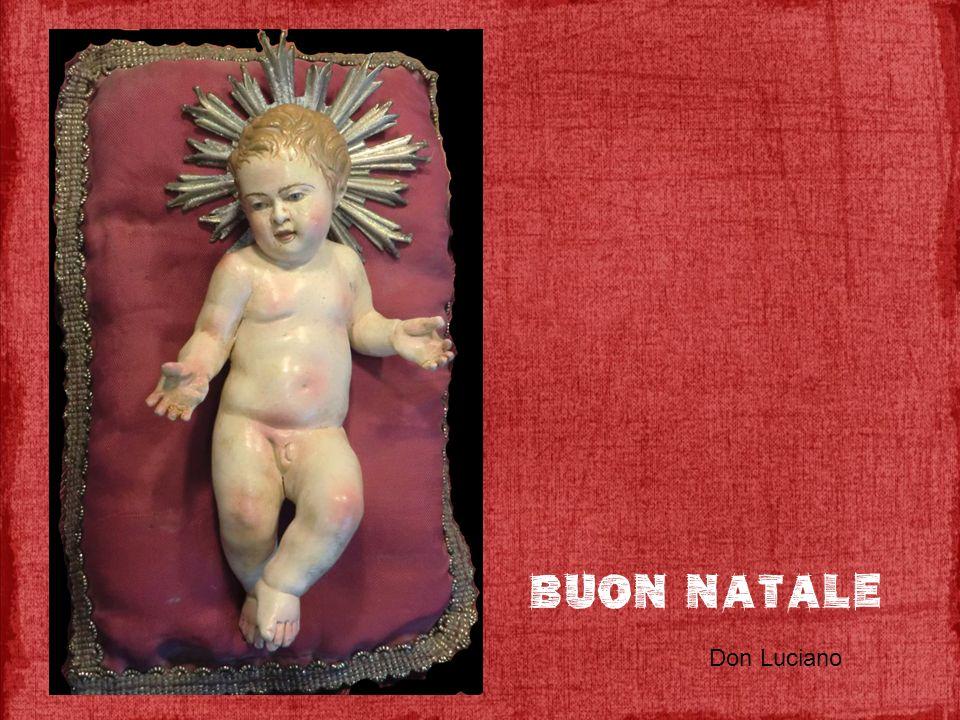 Buon natale Don Luciano