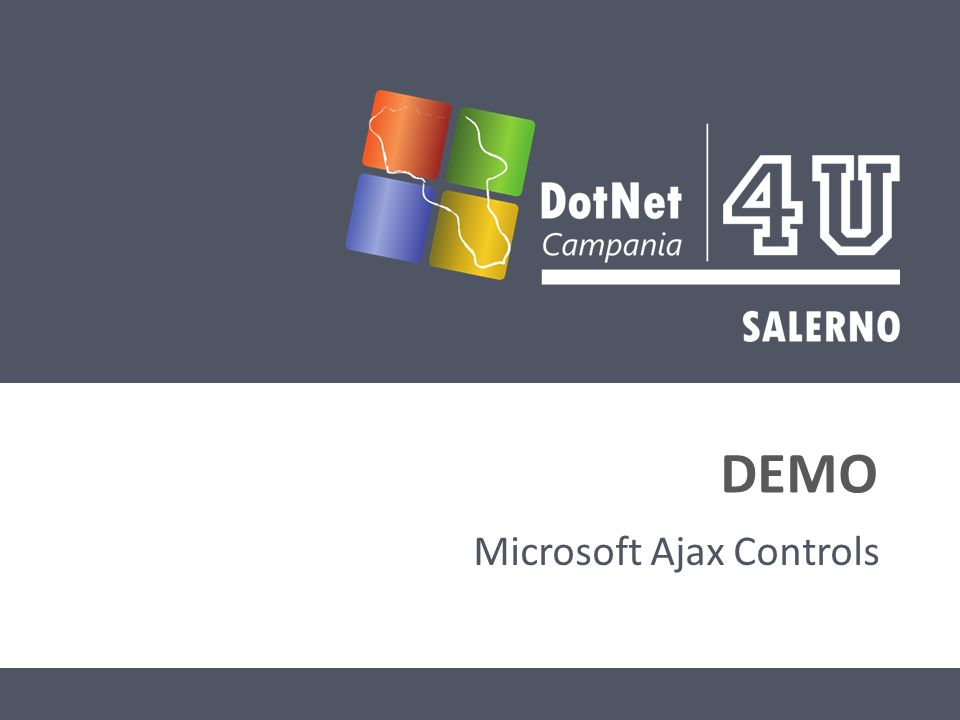 DEMO Microsoft Ajax Controls