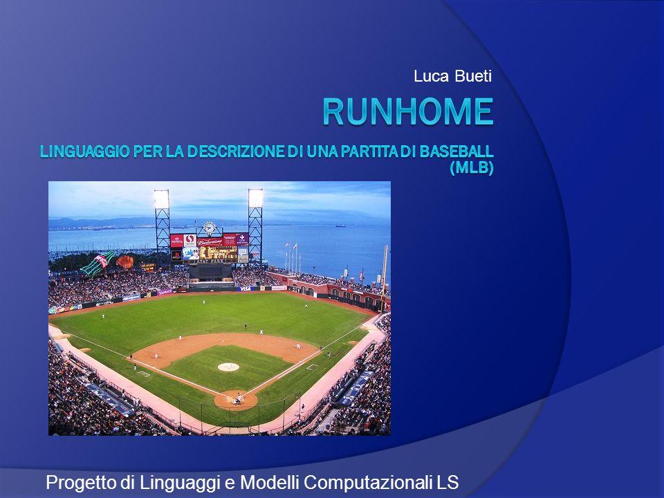 Luca Bueti Progetto di Linguaggi e Modelli Computazionali LS