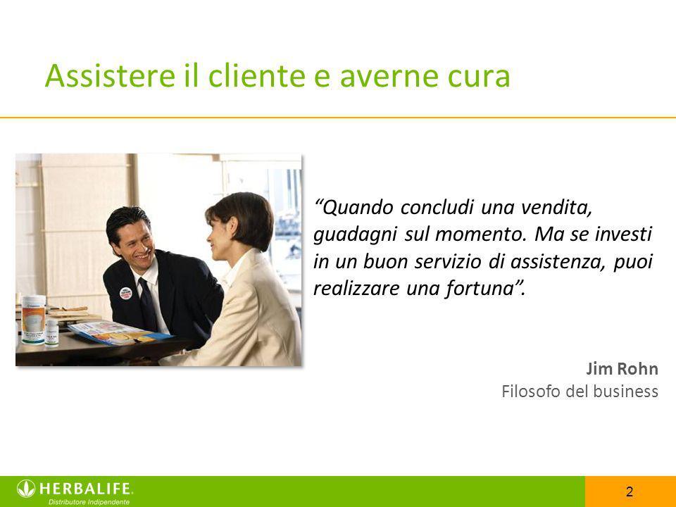 2 Assistere il cliente e averne cura Quando concludi una vendita, guadagni sul momento. Ma se investi in un buon servizio di assistenza, puoi realizza
