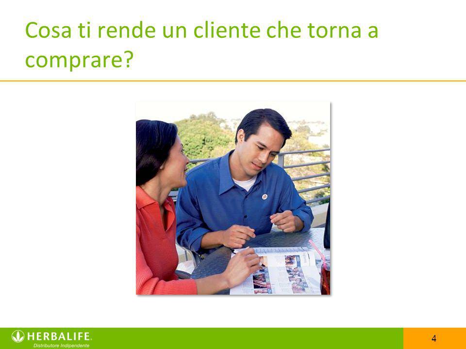 4 Cosa ti rende un cliente che torna a comprare?