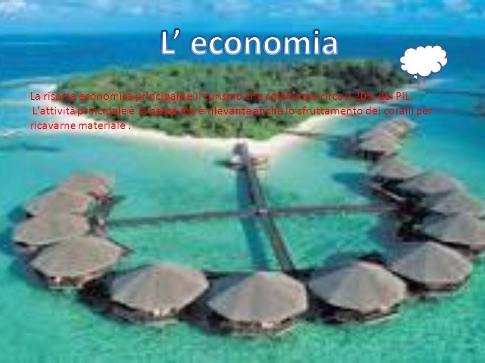 Un importante risorsa tradizionale dell economia maldiviana era, fino al XVI secolo, il commercio delle conchiglie del tipo Cyprea moneta e di Cassis Cornuta, molto apprezzate nei paesi affacciati sull Oceano Indiano
