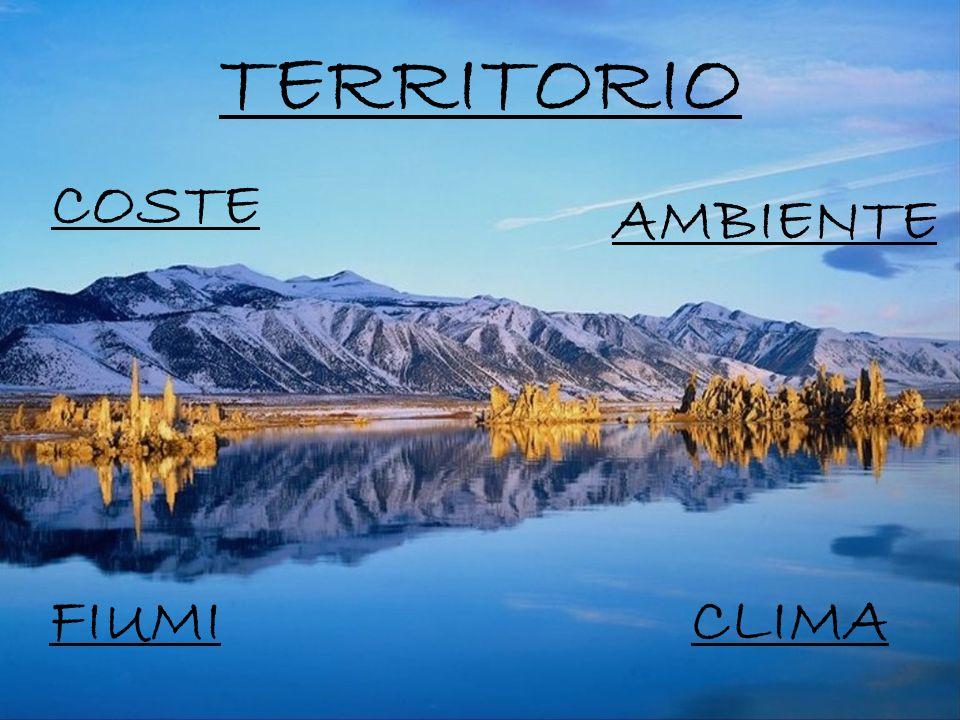 TERRITORIO AMBIENTE COSTE CLIMA FIUMI