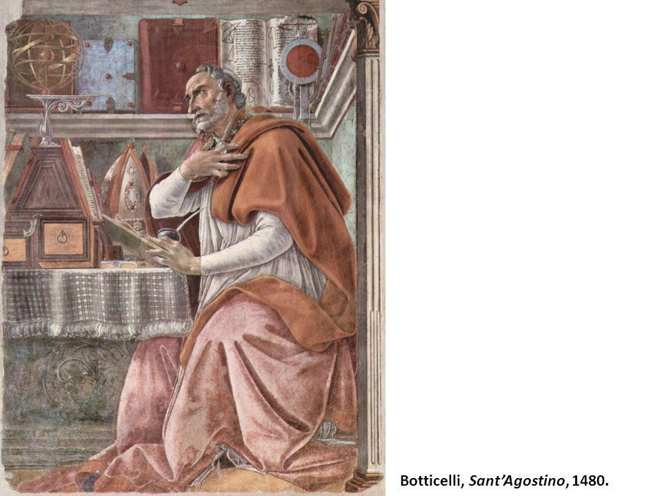 Botticelli, SantAgostino, 1480.