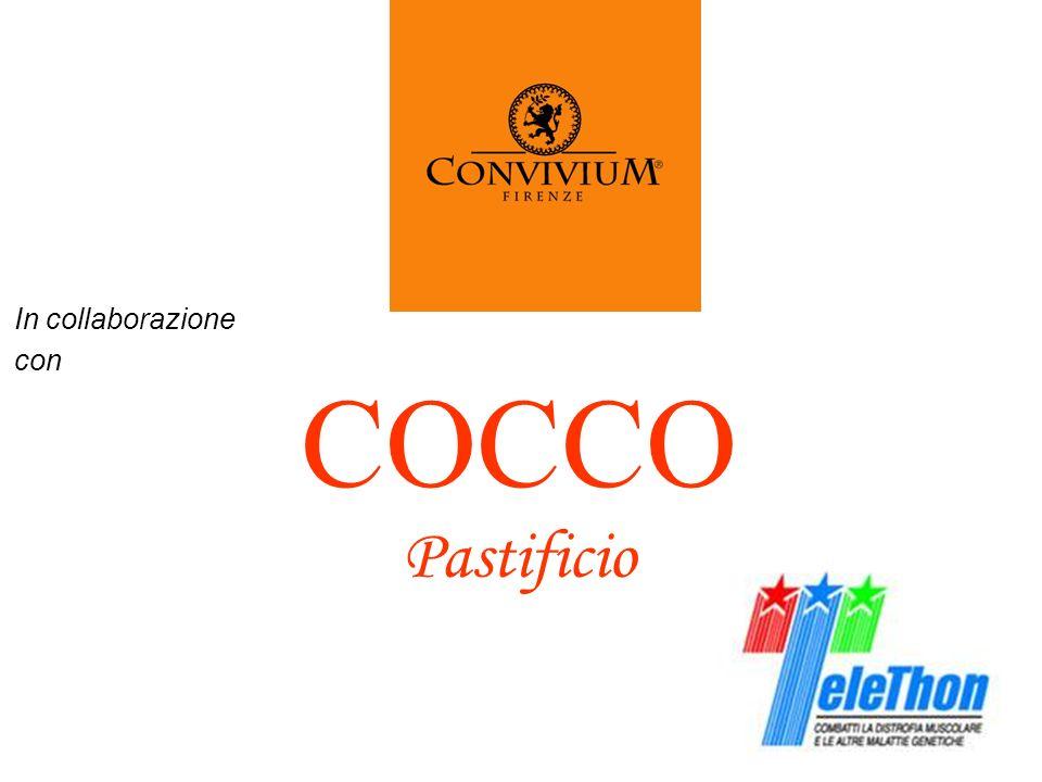 In collaborazione con COCCO Pastificio