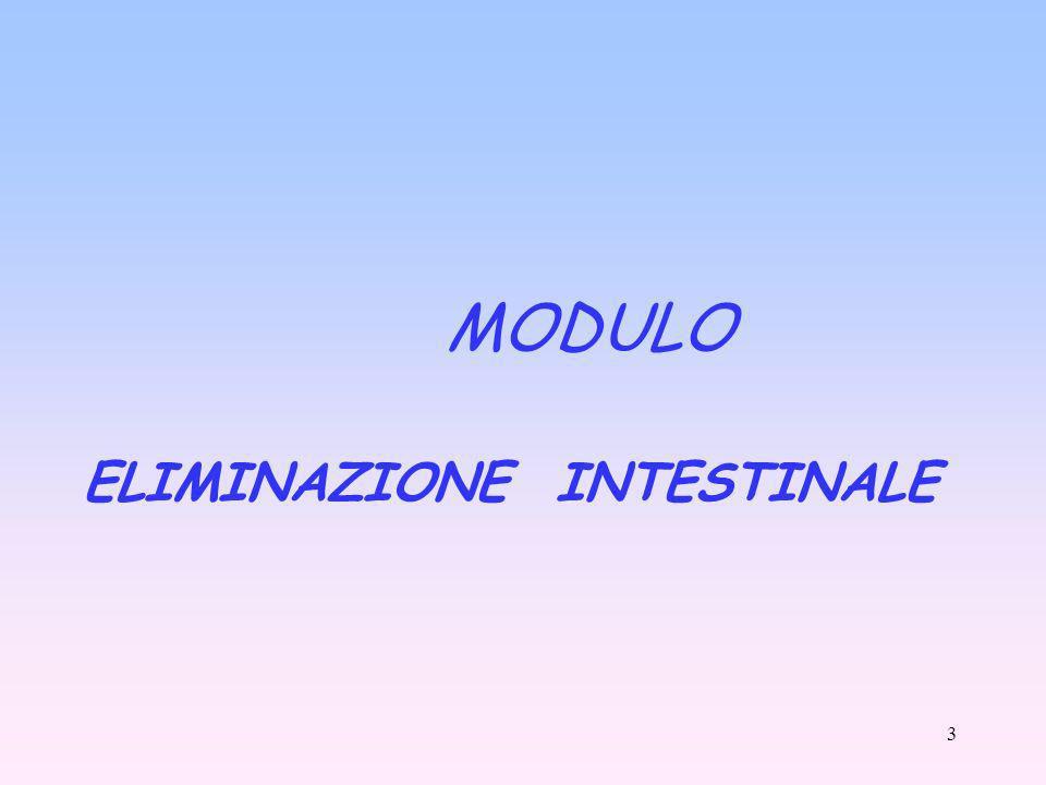 3 MODULO ELIMINAZIONE INTESTINALE