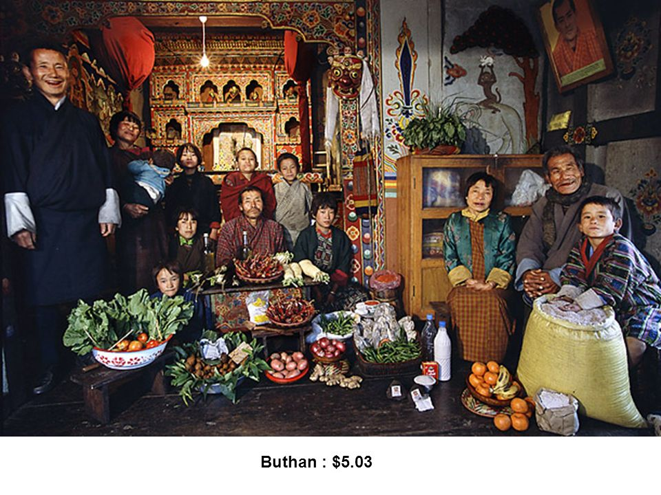 Buthan : $5.03