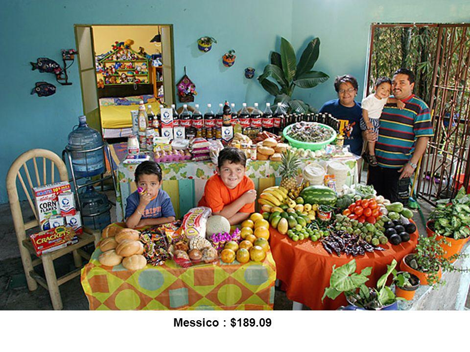 Messico : $189.09