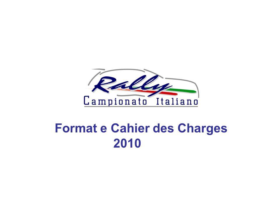 Format e Cahier des Charges 2010