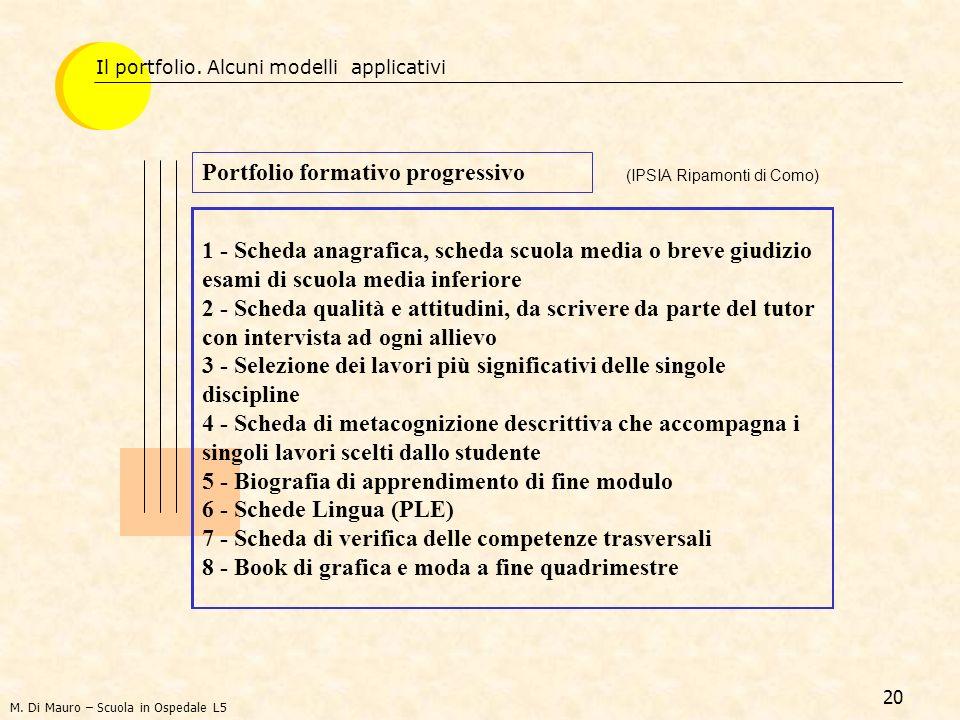 20 1 - Scheda anagrafica, scheda scuola media o breve giudizio esami di scuola media inferiore 2 - Scheda qualità e attitudini, da scrivere da parte d