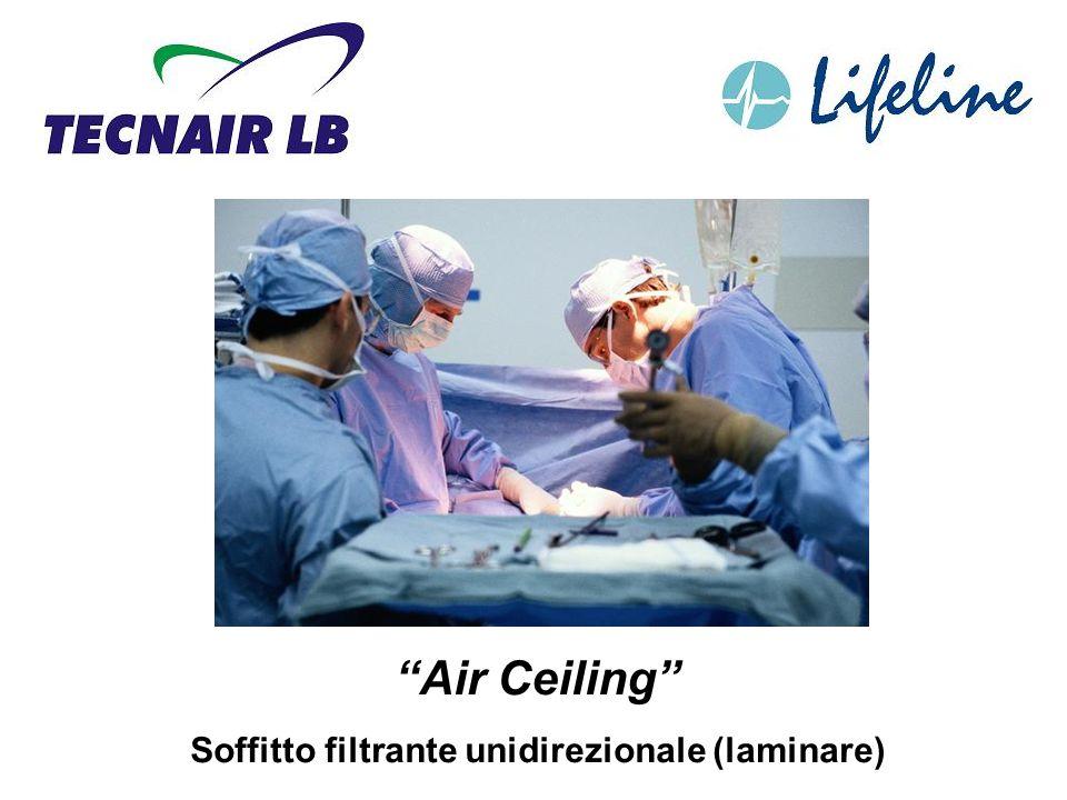 Air Ceiling Soffitto filtrante unidirezionale (laminare)