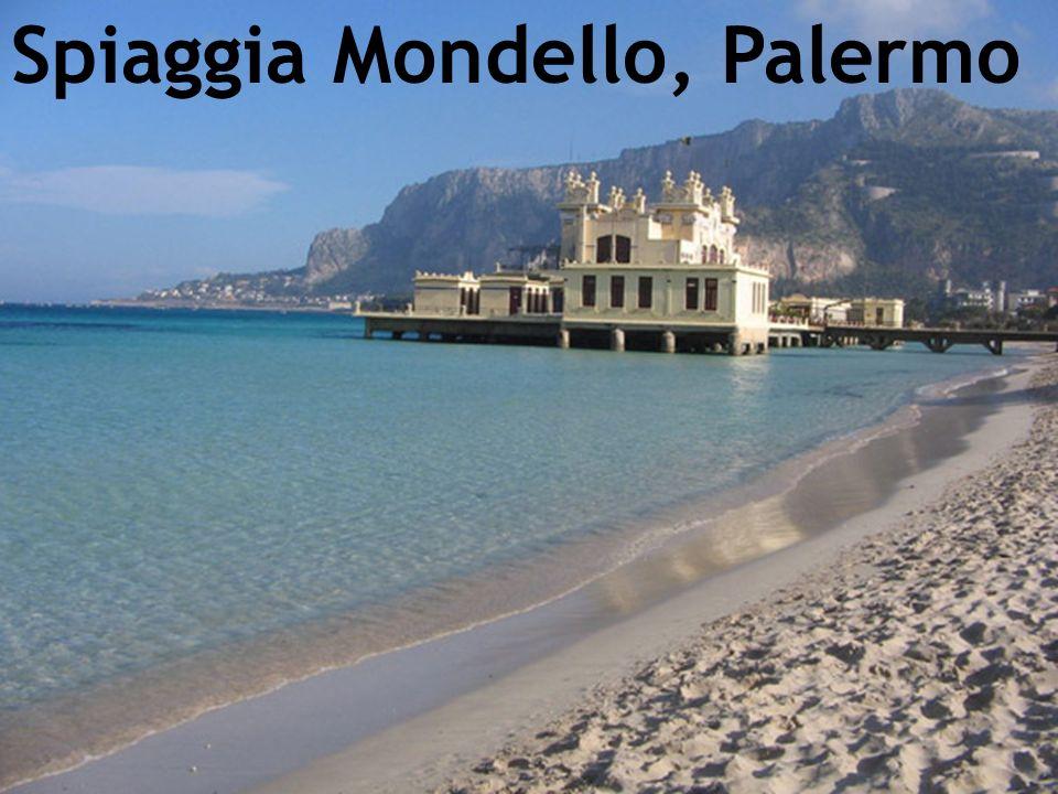 Spiaggia Mondello, Palermo