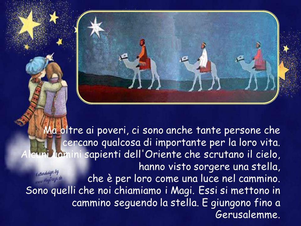 Questo è il Natale di Gesù: Gesù nasce povero, posto in una mangiatoia. Accanto ci sono Maria e Giuseppe, che sono poveri. I primi che vengono da lui
