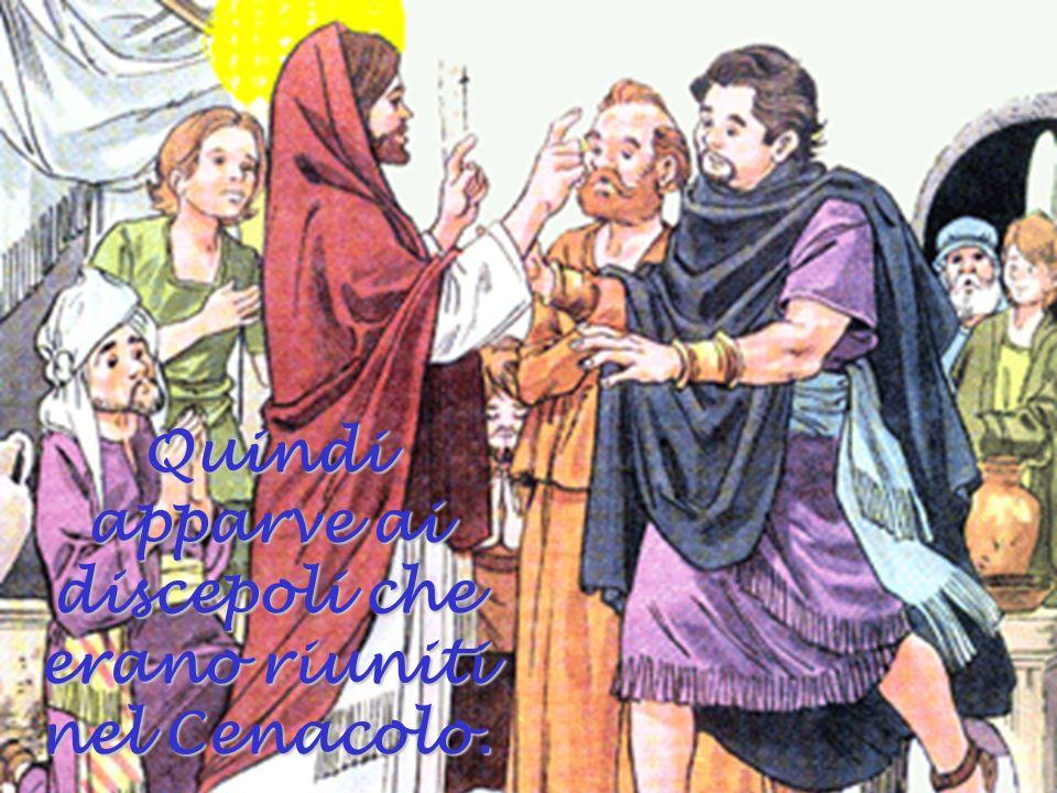 María Maddalena piangeva perché non trovava il corpo di Gesù, e il Maestro le apparve.