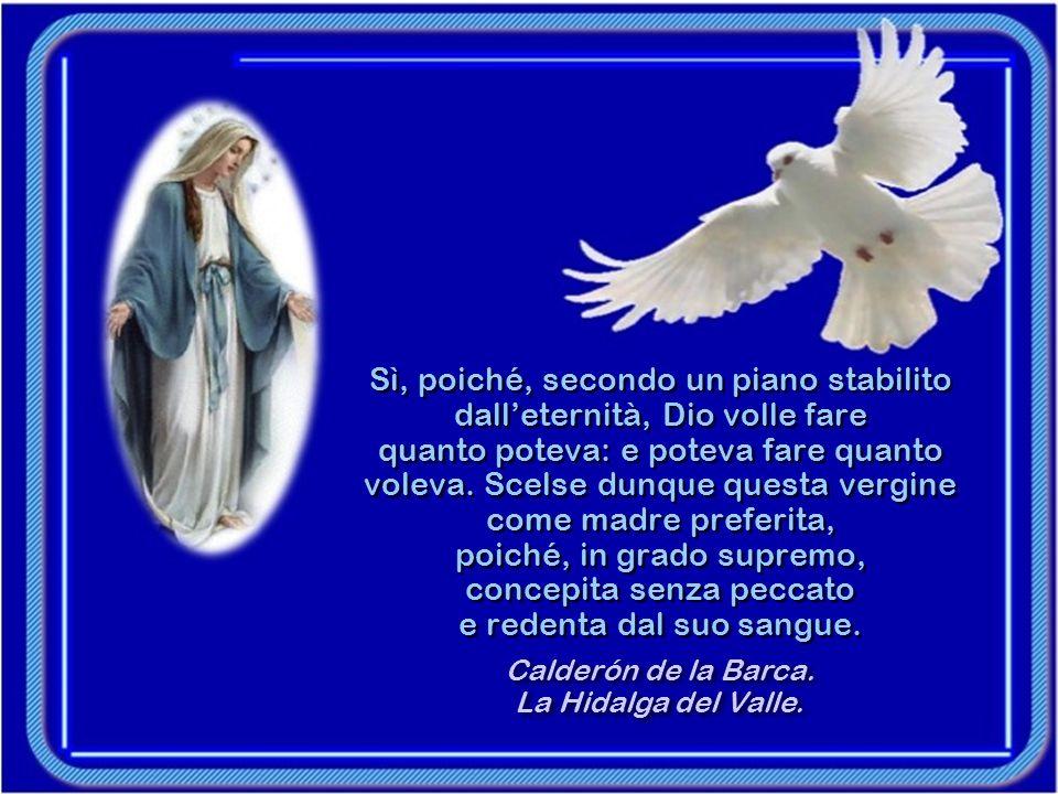 La colomba visitò il giglio e salutò: Ave Maria. Tutta la sua carne divenne Luce.