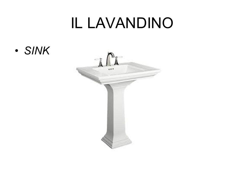 IL LAVANDINO SINK