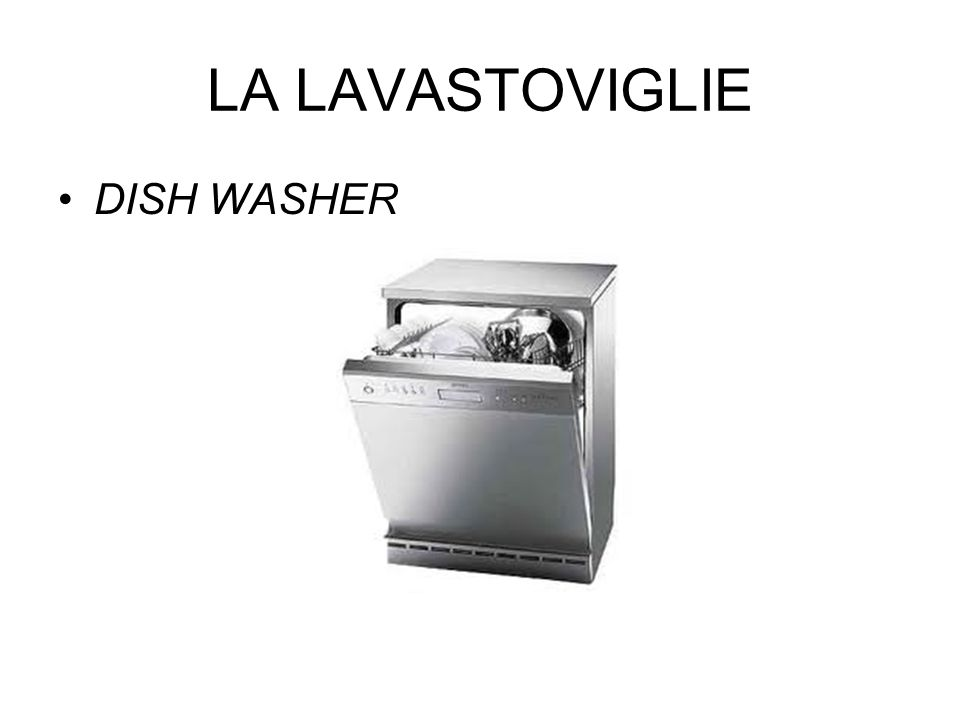 LA LAVASTOVIGLIE DISH WASHER
