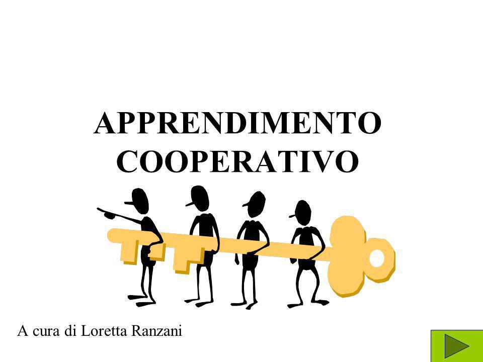 APPRENDIMENTO COOPERATIVO A cura di Loretta Ranzani