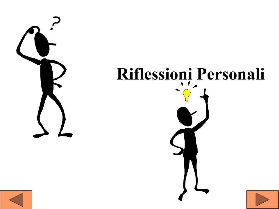 Riflessioni Personali