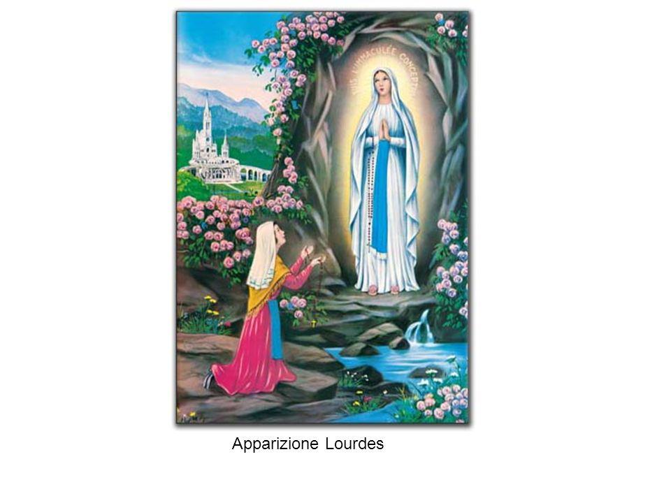 Apparizione Lourdes