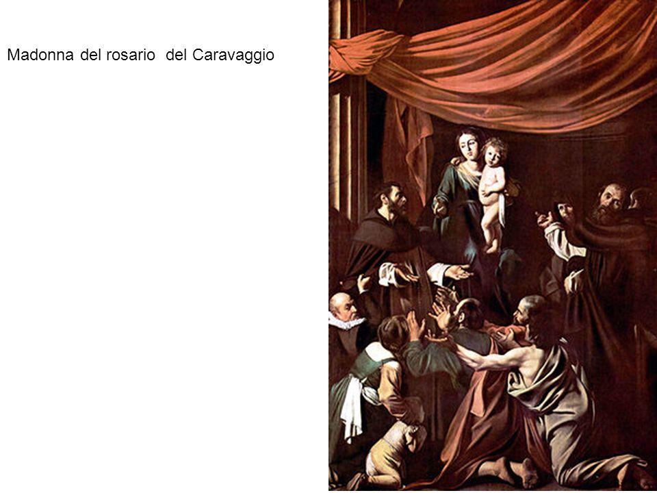 Madonna del rosario del Caravaggio