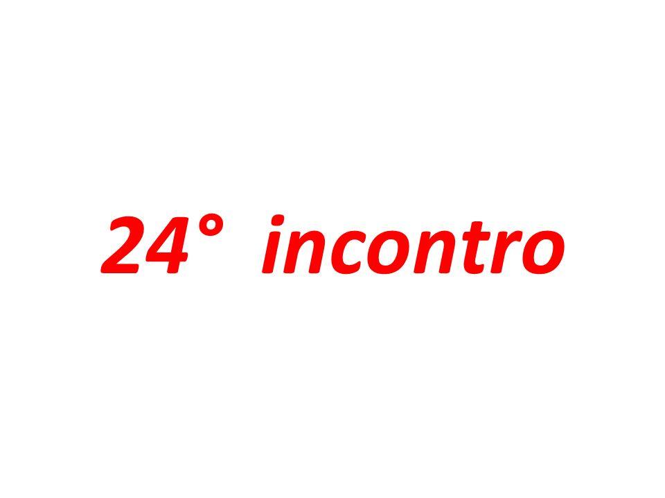 24° incontro