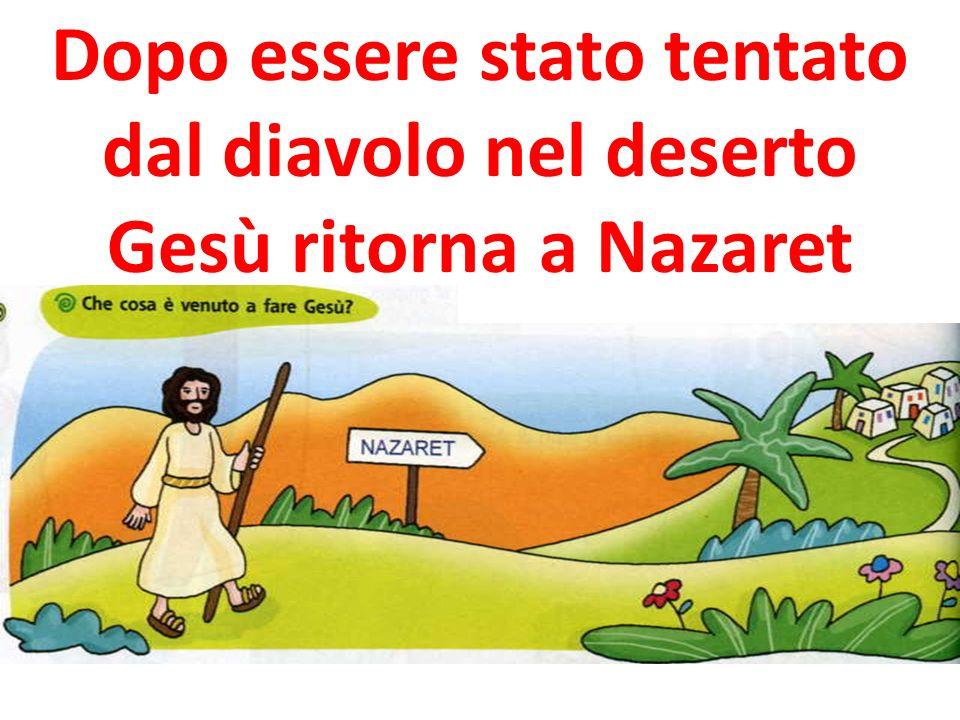 Si recò a Nazaret, dove era stato allevato; ed entrò, secondo il suo solito, di sabato, nella sinagoga e si alzò a leggere.