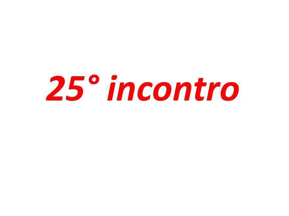 25° incontro