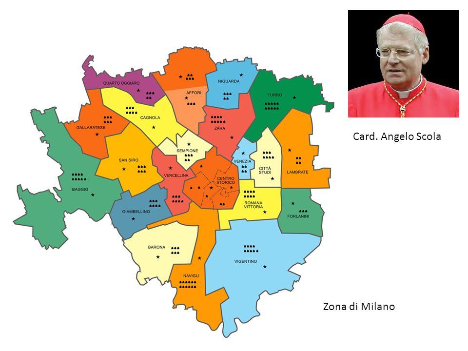Card. Angelo Scola Zona di Milano