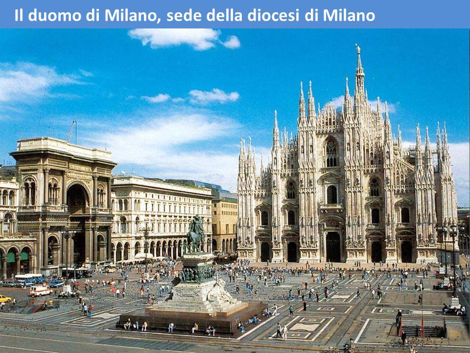 Il duomo di Milano, sede della diocesi di Milano