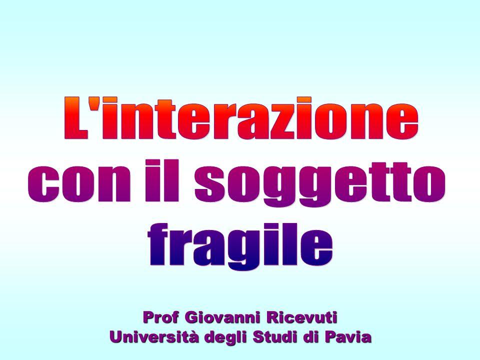 Prof Giovanni Ricevuti Università degli Studi di Pavia