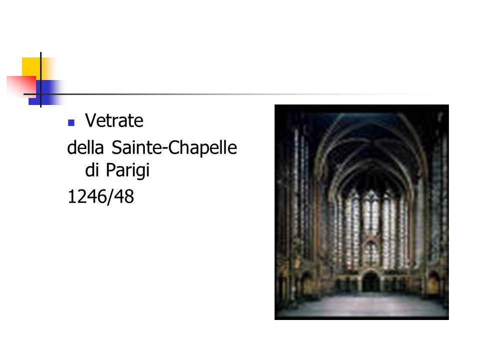 Vetrate della Sainte-Chapelle di Parigi 1246/48