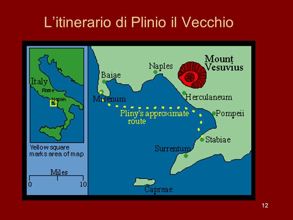 Litinerario di Plinio il Vecchio 12
