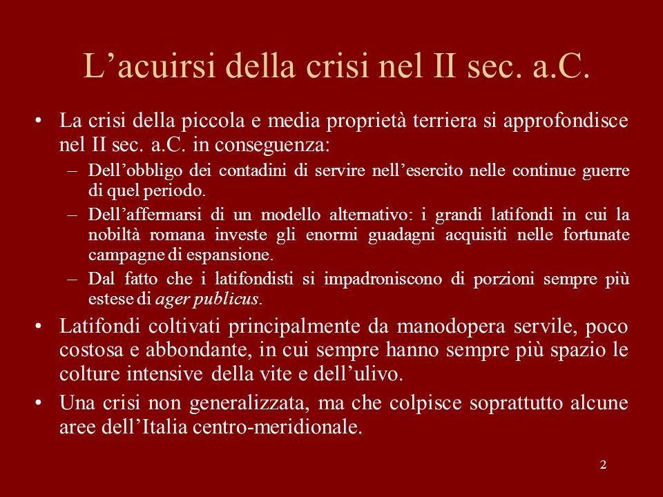 23 Livio XLII, 3, 1-3: un sacrilegio contro il tempio di Era Lacinia Quello stesso anno [173 a.C.] fu scoperchiato il tempio di Giunone Lacinia.