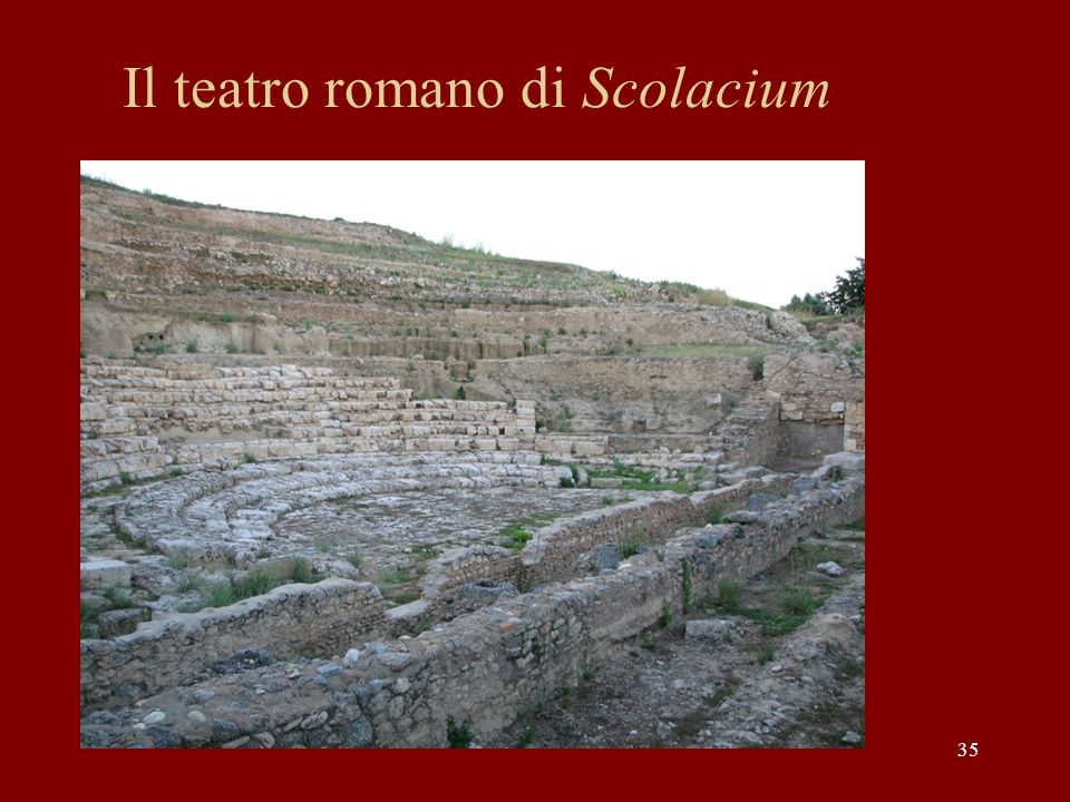 Il teatro romano di Scolacium 35