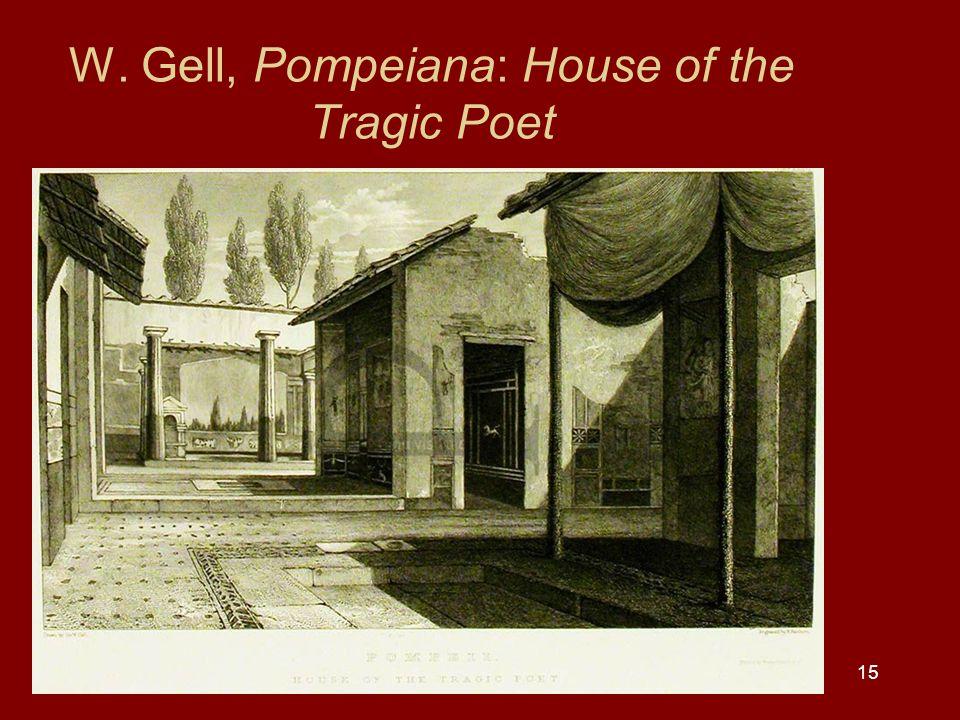 15 W. Gell, Pompeiana: House of the Tragic Poet