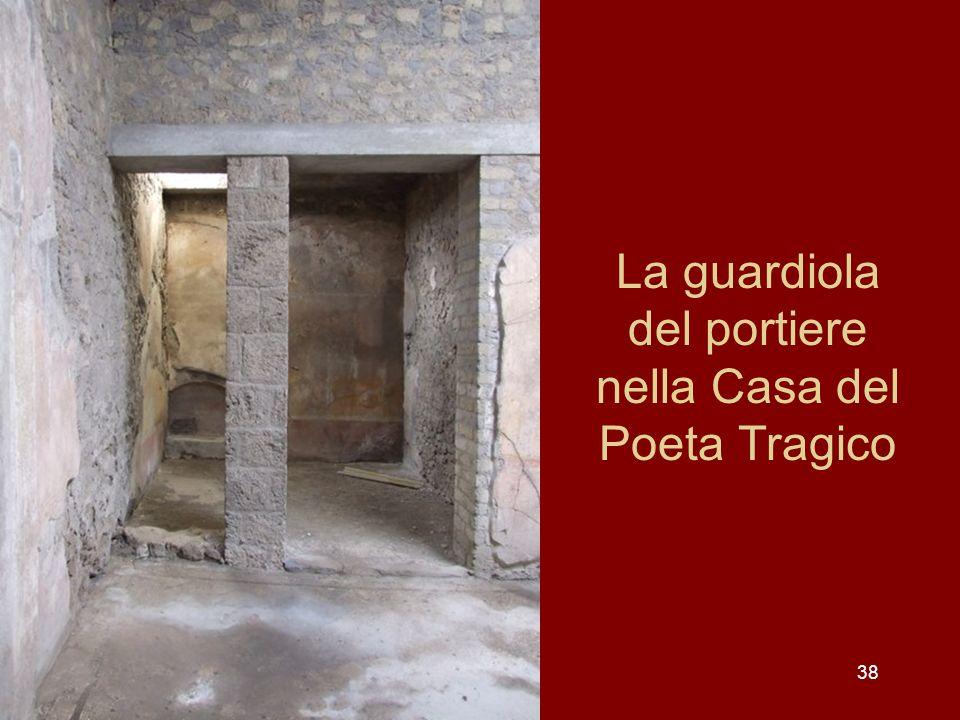 38 La guardiola del portiere nella Casa del Poeta Tragico