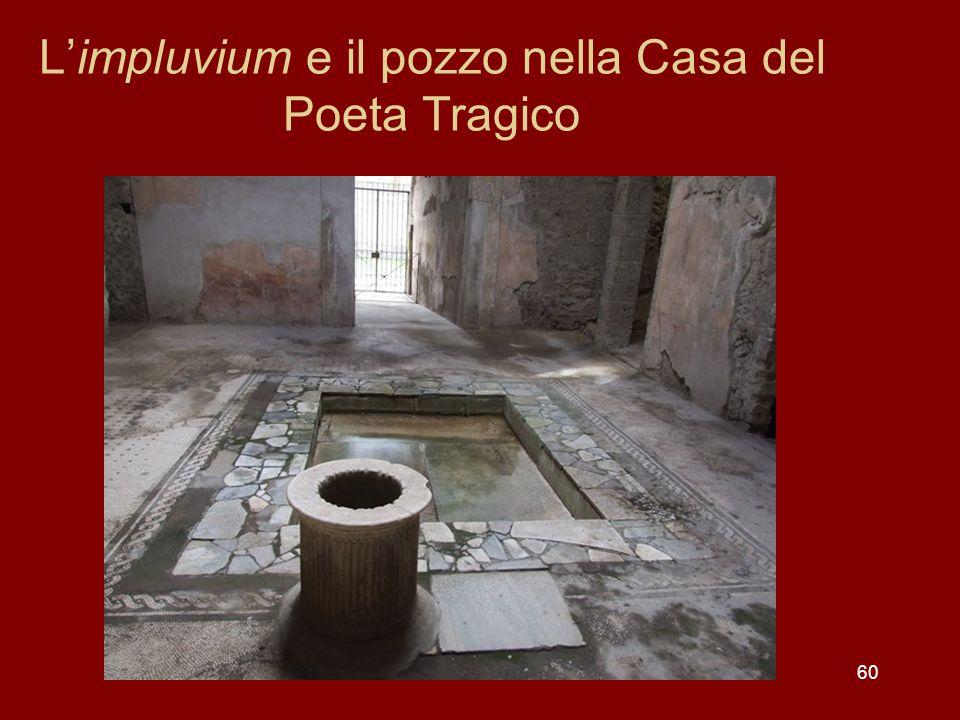 60 Limpluvium e il pozzo nella Casa del Poeta Tragico